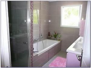 petite salle de bain avec baignoire et douche With petite salle de bain avec toilette