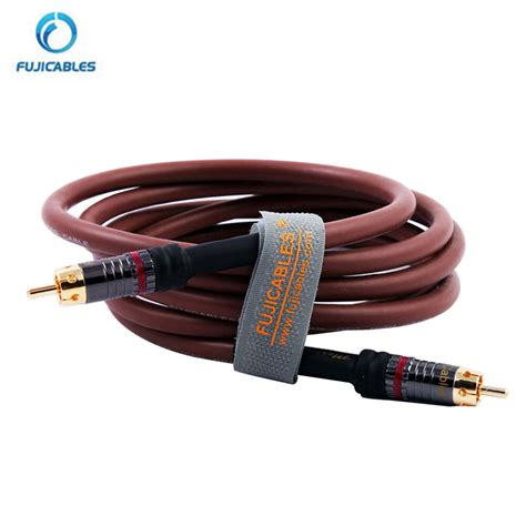 cable audio high quality digital coaxial rca audio cable hifi stereo subwoofer cables ebay
