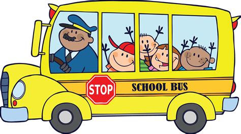 yellow bus kids song clip art library