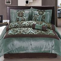 teal and brown bedding Teal/brown bedding | Bedding | Pinterest | Spreads, The o ...