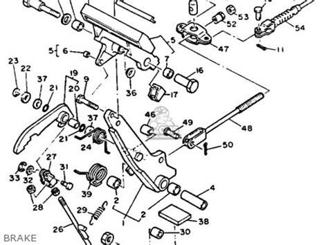 yamaha g9 ah golf buggy 1992 parts list partsmanual partsfiche