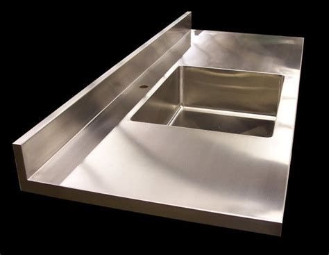 Stainless Steel Sink Countertop Integrated - stainless steel sink countertop integrated bindu bhatia