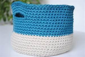 Corbeille Au Crochet : tuto une corbeille panier en crochet avec le coton dmc natura xl le blog de caro tricote ~ Preciouscoupons.com Idées de Décoration