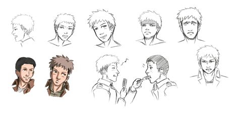 Just take this quiz and you'll be set! Male Face drawing practice - Jean Kirschstein by Tobsen85 ...