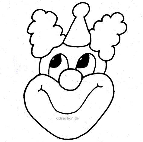 clown gesicht basteln ausmalbilder clown kostenlos malvorlagen zum ausdrucken page 5 sur 6 affefreund