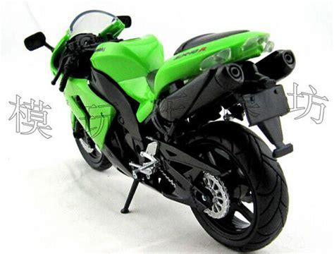 green 1 12 scale newray diecast kawasaki zx 10r
