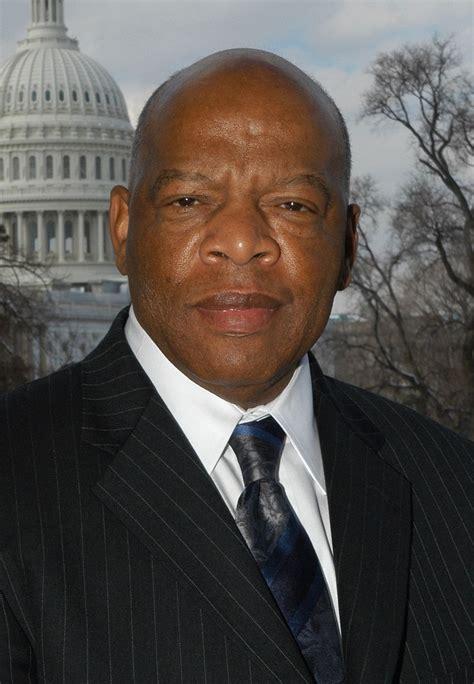 congressmen john lewis  bennie thompson set