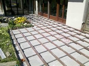 Unterbau Terrasse Pflastern : unterbau terrasse wpc holzterrasse bauanleitung unterbau ~ Whattoseeinmadrid.com Haus und Dekorationen