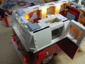Lego Led Beleuchtung : lego camping bus 10220 mit led beleuchtung youtube ~ Orissabook.com Haus und Dekorationen