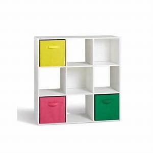 Meuble Casier Blanc : alsapan 94435 compo 02 meuble de rangement etag re de 9 casiers blanc 91 x 29 5 x 91 cm achat ~ Teatrodelosmanantiales.com Idées de Décoration