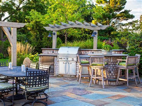idee cuisine d ete outdoor kitchen countertops pictures tips expert ideas