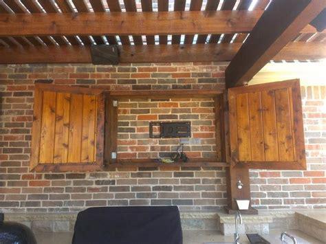 exterior furniture creative outdoor tv cabinet
