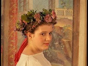 Hairstyle and Costume of the Roman Bride - YouTube