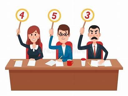 Judges Jury Score Judge Clipart Evaluation Assessment