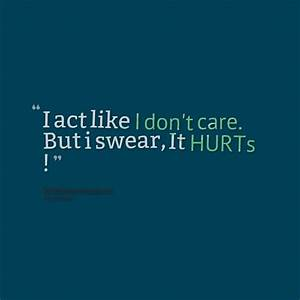 I DONT CARE QUOTES FOR FACEBOOK image quotes at ...