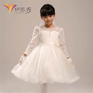 flower girl dress formal dress child autumn and winter With winter wedding flower girl dresses