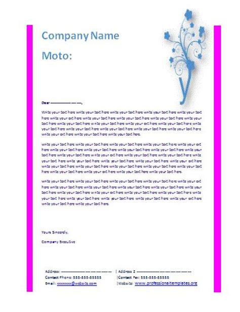 ideas   letterhead templates  pinterest