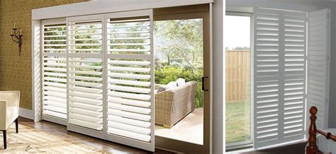 blinds  sliding glass doors  suitable window