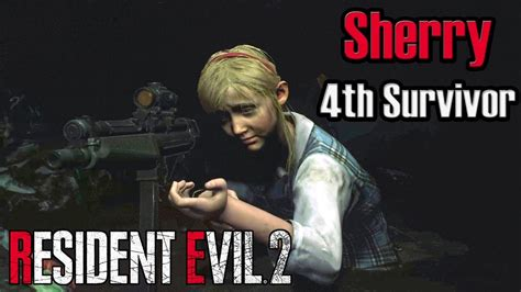 Resident Evil 2 Remake Pc Mod Sherry In 4th Survivor