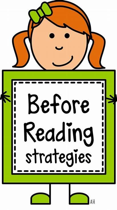 Reading Strategies Comprehension Before Clipart Preschool Activities