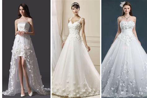 vestiti da sposa con fiori abito da sposa pizzo fiori abiti in pizzo