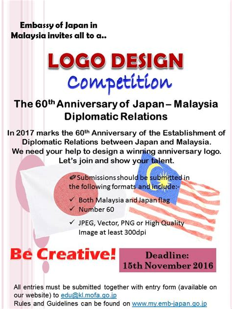logo design contest embassy of japan in malaysia