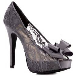 Lace Shoes with Heels for Women