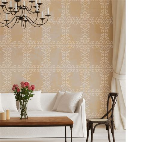Decor And More by Wall Damask Stencil Trellis Allover Stencils For