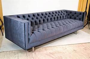 Modern, Tufted, Velvet, Sofa, At, 1stdibs