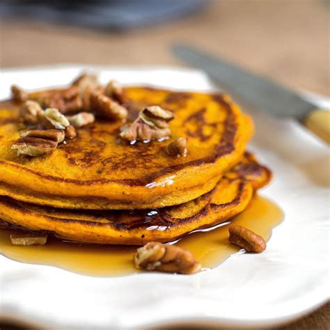 pumpkin pancakes recipe eatingwell