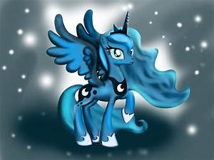 Learn How To Draw Princess Luna From My Little Pony