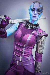 Awesome Nebula Cosplay (from Guardians of the Galaxy ...