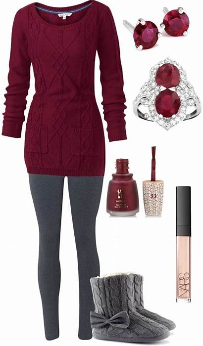 Outfits Leggings Polyvore Comfy Outfit Lounging Grey