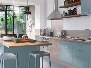Meuble Cuisine Campagne : great luharmonie des couleurs with meuble cuisine campagne ~ Teatrodelosmanantiales.com Idées de Décoration