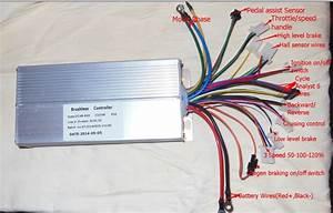 9c Hub Motor Wires Side    Direction