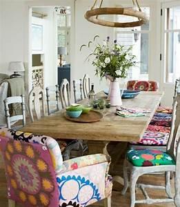 Küchen Und Esszimmerstühle : shabby chic m bel und boho style ideen f r ihr zuhause kreativit t pinterest esszimmer ~ Orissabook.com Haus und Dekorationen