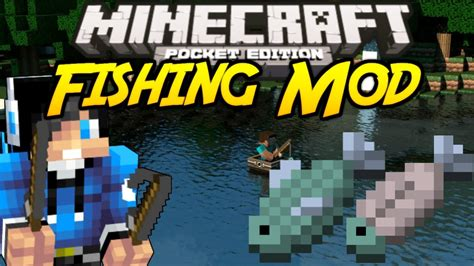 minecraft fishing mod mcpe