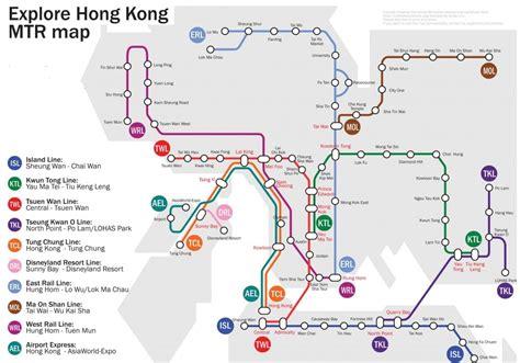 Hong Kong Mtr Map 2012-2013