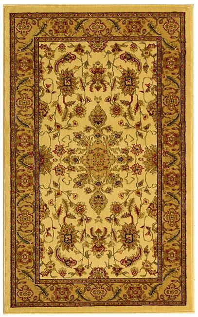 Safavieh Lyndhurst Collection by Safavieh Lyndhurst Collection Ohsak Ivory Rug 3 3 X
