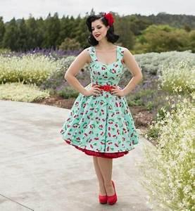 Mode Femme Année 50 : tenue femme style guinguette ~ Farleysfitness.com Idées de Décoration