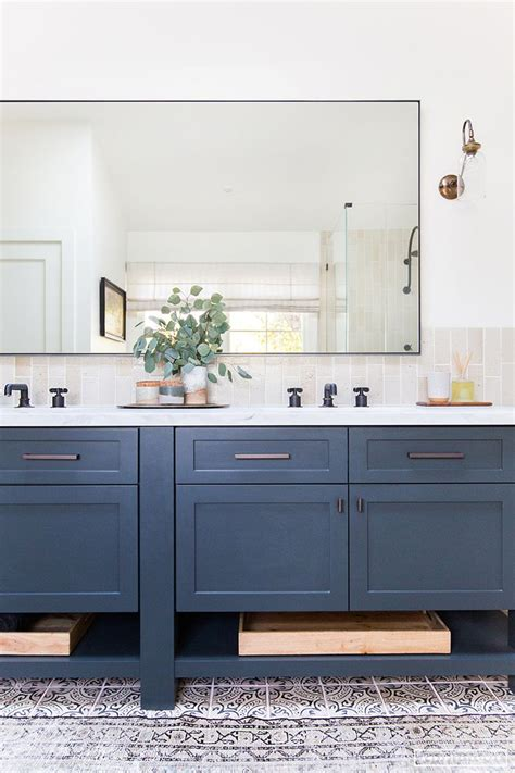 blue vanity ideas  pinterest blue bathroom