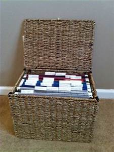 wicker hanging file basket letter size hanging file box With letter size hanging file box organizers with lid sfb500