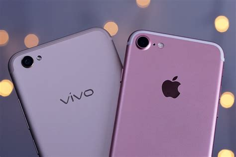 perbandingan apple iphone   vivo  futureloka