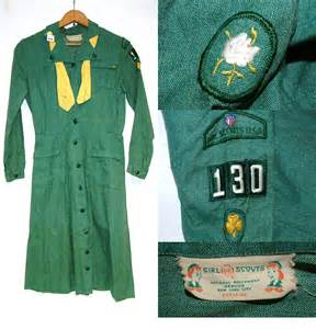 Vintage Girl Scout Uniform