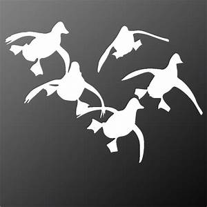 FLYING DUCKS STICKERS DECALS GRAPHICS WILDFOWLING ...