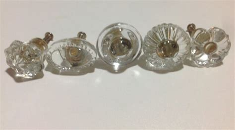 Choose Style And Shape Clear Glass Crystal Cabinet Knobs