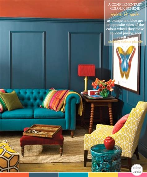 How To Decorate With A Complementary Colour Palette Home Decorators Catalog Best Ideas of Home Decor and Design [homedecoratorscatalog.us]