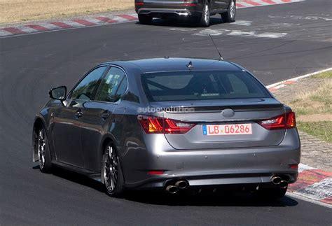 gsf lexus 2015 spyshots 2015 lexus gs f tested on track