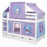 Girls Bunk Beds For Your Kids Simple Girl Bunk Beds Purple Twin Bed Bedroom Sets For Girls Bunk Beds Adults Kids Cool Loft Bedroom Chairs Unique Elegant Bunk Beds With Stairs That Arranged Like Bunk Beds For Adults Space Saving Solution For Coziness