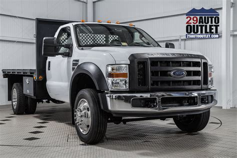2008 Used Ford Super Duty F-550 Drw F550 Flatbed At